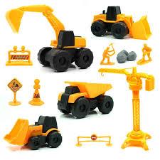 100 Kids Dump Truck Construction Toys Set Early Engineering Vehicles Excavator Bulldozer Friction