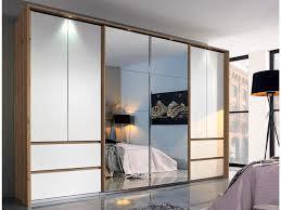 rauch fulda dreh und schwebetürenschrank spiegelschrank eiche wotan weiß front inkl beleuchtung 315x211 cm