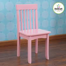 amazon com kidkraft avalon chair pink toys games