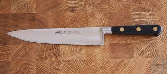 couteau cuisine sabatier sabatier couteau chef fusil ideal la coutellerie des chefs
