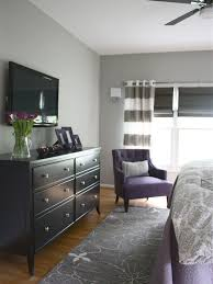 Attractive Contemporary Bedroom Ideas For Couples Also Black Wooden Chest Of Drawers Light Grey
