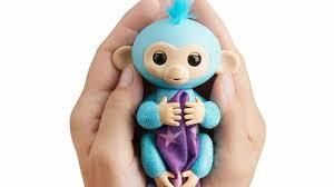 Fingerlings Glitter Monkey Amelia Turquoise Bonus Blankie