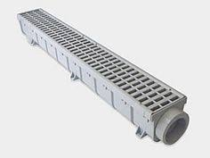 Source 1 Drainage S1E GLVCH Trench & Driveway Channel Drain With