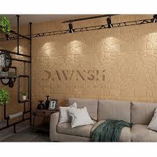 beliebte marmor stein ziegel wand papier 3d schaum fliesen wand aufkleber für schlafzimmer wand dekoration tv hintergrund wand dekor