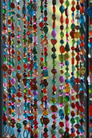 Doorway Beaded Curtains Wood by Beaded Curtainglass Beaded Suncatcher Window Curtain Beaded