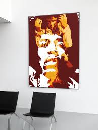 100 Pop Art Home Decor Jimi Hendrix Wall Print Music Wall Living Room Kitchen Wall New A5 A4 A3 A2 Music