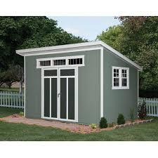 Backyard Sheds Jacksonville Fl by Shop Heartland Metropolitan Lean To Engineered Wood Storage Shed