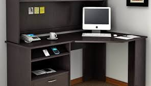 L Shaped Computer Desk With Hutch by Centered Black Corner Desk Hutch Tags Small L Shaped Desk With