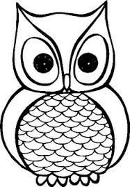 Owl Clipart Black And White Cute ClipartXtras