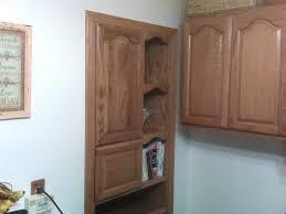 free standing corner pantry cabinet biblio homes functional
