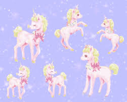 Unicorn Purple Kawaii GIF On GIFER