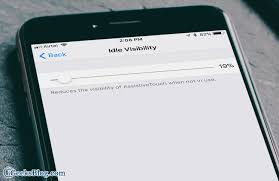 to Reduce Visibility of AssistiveTouch in iOS 11 on iPhone and iPad