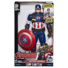 Marvel Avengers Age Of Ultron Titan Hero Tech Captain America Interactive Figure B1495