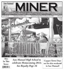 Marana Pumpkin Patch Accident by 10 3 12 San Manuel Miner By Michael Carnes Issuu