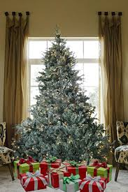 8 FT Prelit Premium Spruce Hinged Artificial Christmas Tree 1600 Realistic Branch Tips Pines With