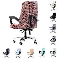 1pcs Rotating Office Computer Chair Cover Spandex Covers For ... Leather Office Chair Cover Beandsonsco View Photos Of Executive Office Chair Slipcovers Showing 15 Melaluxe Cover Universal Stretch Desk Computer Size L Saan Bibili Help Gloves Shihualinetm Cloth Pads Removable Gallery 12 20 Size Washable Arm Slipcover Rotating Lift Covers Chairs Without Arms Ikea Ding Room Slipcover Eleoption Seat High Back Large For Swivel Boss Lms C Best With Lumbar Support Small