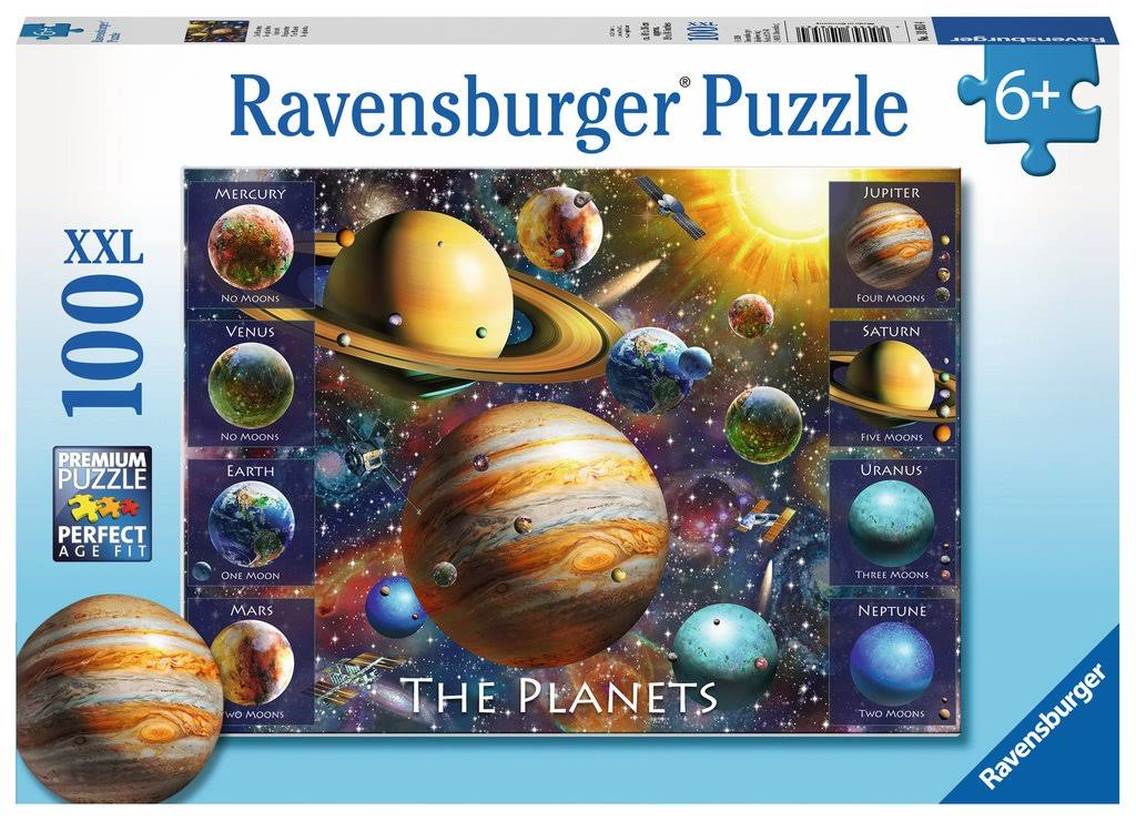 Ravensburger the Planets Jigsaw Puzzle - 100pcs