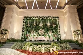 Wedding Stage For Christian And Felicia Reception With