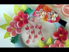 35 Quilling Flower For Beginner Learning Video 4