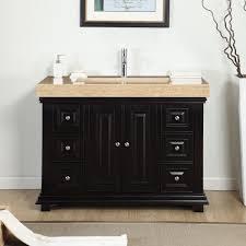 Single Sink Bathroom Vanity by Silkroad Exclusive Mesa 48 Inch Double Sink Bathroom Vanity Best