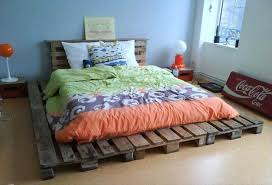 Wonderful Tete A Tete Sofa 3 42 DIY Recycled Pallet Bed Frame