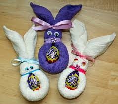Face Cloth Easter Bunnies Easy And Fun