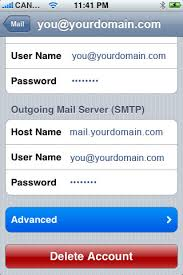 How to setup your email in iPhone ENet Technologies