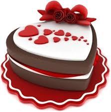 Chocolate cake clipart illustration image