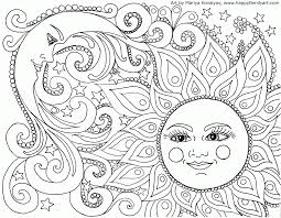 Adult Coloring Page Awesome Nature Pages Mandala With For Adults