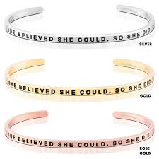 MantraBand Bracelet - She Believed She Could, So She Did - Inspirational  Engraved Adjustable Mantra Band Cuff Bracelet - Silver, Gold, Rose Gold -  ... Mtraband Mtraband Enjoy The Journey Cuff Nordstrom Forplay Discount Code Kmart Coupons Australia Mantra Band Coupon Toronto Blue Jays Shop Blipshift Promo African Lion Safari Fniture Stores In Plano Tx Rbh Sound Nascar Speedpark Seerville Tn Handwritten Stainless Steel Mtraband Bracelet Your Handwriting Your Text Design Perfect For Layering Away Travel Codes Cheap Marlboro Cigarettes Online Uk My Travel Bracelets And Necklaces Where You Can Todays Mantra Is Worthy Wear This