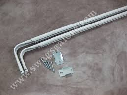 double heavy duty curtain rods drapery hardware