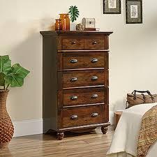 Sauder Beginnings Dresser Cinnamon Cherry by Sauder Bedroom Furniture Furniture The Home Depot