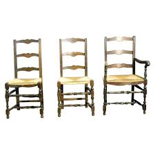 4 French Antique Ladder Back Dining Chairs With Rush Seats : Maison ... Guy Chaddock Melrose Custom Handmade Fniture Cf0485s Country French Ding Chairs With Ladder Back And Rush Seats Antique Farm Carved Tall Seat Room Set Of 6 Provincial In Walnut 10 Louis Xv Style Oak Leather Nailhead Recliner Chair Vintage White Of Four Six Xiv Ladderback Scalloped Stretchers Inspire Q Eleanor Wood 2 By Dec 16 2018