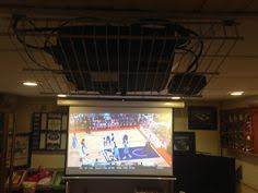Projector Mount Drop Ceiling Walmart by Projector Mounted And Wires Ran Through The Drop Ceiling With A