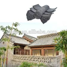building material ceramic japanese style clay roof tiles