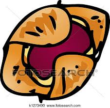 Stock Illustration Pastry danish Fotosearch Search Clipart Illustration Posters Drawings and