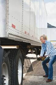 Pretty Blonde Woman Truck Driver Cranking The Dolly Handle To ... Pretty Blonde Woman Truck Driver Cranking The Dolly Handle To 5 Best Selling Hand Trucks In 2018 Reviews And Comparison Costway 330lbs Folding Platform Cart Push Snaploc 1500 Lb Capacity Allterrain Panel Red Electric Stair Climbing For Sale Mobilestairlift How To Make A Cartruck Tow Cheap 10 Steps Milwaukee 600 Flow Back Solid Tire Truckht700 Euro Simulator 2 Mods Double Trailers With 128 Worlds Most Recently Posted Photos Of Dolly Truck Flickr Trailer Hitch Helper Designed Bumper Pull Trailers Wheel 8 Cart Wagon Hardlineproductscom Colson Piano Adjustable Moving Spider Rolling
