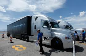 Technologists Promise That Self-driving Trucks Are Coming' | The Star Embarks Selfdriving Truck Completes 2400 Mile Crossus Trip Truck Driving Volvo Vnl Top Ten Does A Lead To Prostate Cancer Ask Dr Weil What Consider Before Choosing School Platoon In The European Platooning Driver Traing Hvacr And Motor Carrier Industry Debunked Myths Of Drivers Nagle Uber Selfdriving Trucks Are Now Hauling Freight Cbs Denver Why Do We Need Selfdriving Trucks News Progressive Student Reviews 2017