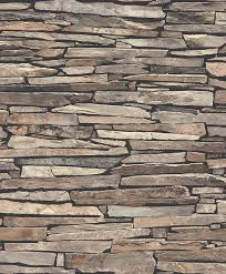 Stackstone Stone Slat Cladding Wallpaper