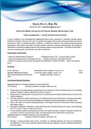 Icu Nurse Resume Luxury Nursing Services Yeniscale