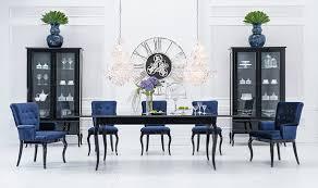 wohnzimmer set 8 tlg 2x vitrine klassische esszimmer garnitur tisch holz design