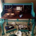 Ethan Allen Liliana Secretary Desk by Ethan Allen Hand Painted Secretary Desk Thediapercake Home Trend