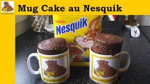 recette de cuisine cake le mug cake au nesquik recette rapide et facile