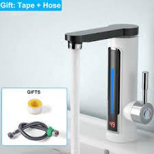 Elektrischer Wasserhahn Durchlauferhitzer Armatur Mischbatterie Markenlose Einhandmischer Aus Verchromtem Messing Günstig