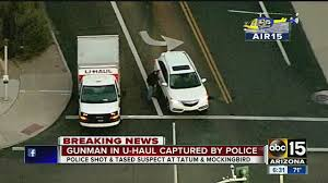 Gunman Taken Down By Police After Pursuit In U-Haul Truck - YouTube Rental Truck Uhaul Uhaul Storage Facility Seattle Washington Facebook 14 Photos U Haul Stock Images Alamy Adds New Franken Location Cheapest Moving Truck Rental Company August 2018 Coupons Here Are The Top Cities Where Says People Packing Up And Thesambacom Type 3 View Topic Tow Dolly Defing A Style Series Moving Redesigns Your Home
