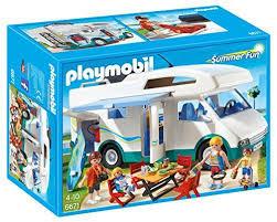 playmobil 6671 famille avec cing car toute la