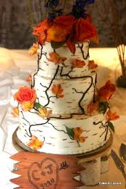 Birch Tree Wedding Cake Amazing