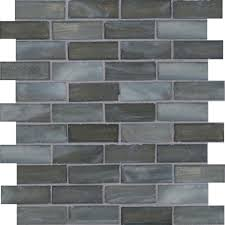 ms international mosaic tile oceano brick 1 x3 glossy