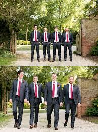 Dark Blue And Red Groomsmen Attire Weddingchicks