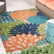 Zipcode Design Nathalie Cream Indoor Outdoor Area Rug & Reviews